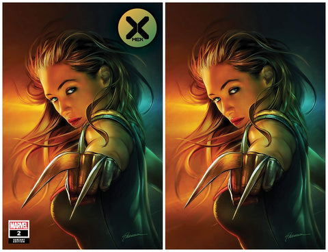 X-MEN #2 SHANNON MAER X-23 TRADE/VIRGIN VARIANT SET LIMITED TO 600 SETS