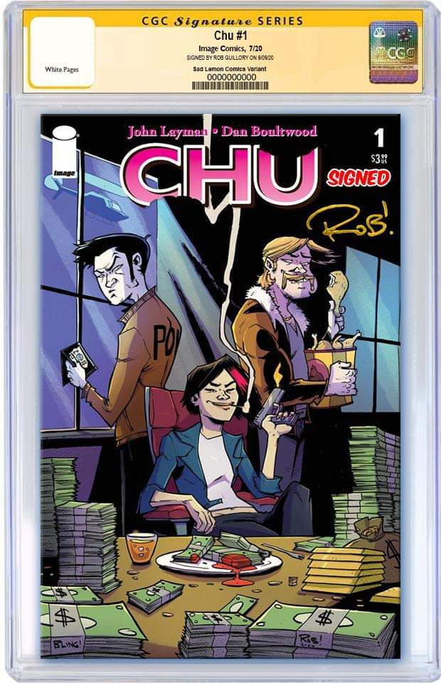CHU #1 ROB GUILLORY VARIANT LIMITED TO 500 COPIES CGC SS PREORDER