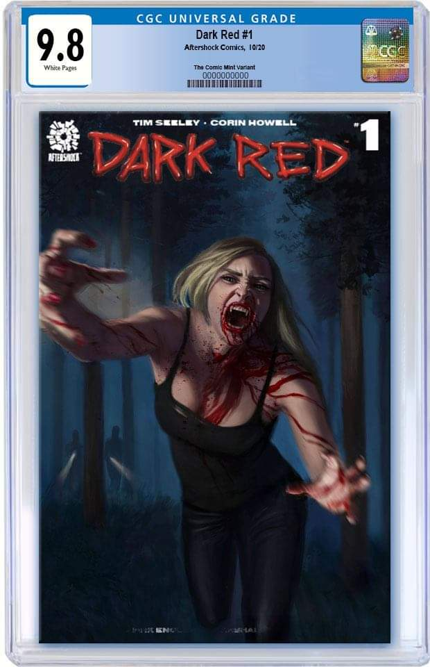 DARK RED 1 AARON BARTLING NYCC WEEK TRADE DRESS VARIANT LIMITED TO 500 CGC 9.8 PREORDER