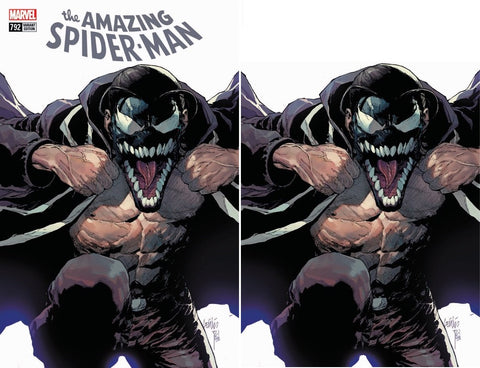 AMAZING SPIDER-MAN #792 LEINIL YU MANIAC VARIANT 1ST COVER APP OF NEW SYMBIOTE VIRGIN VARIANT SET LIMITED TO 600 SETS
