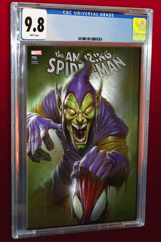 AMAZING SPIDER-MAN #799 LUCIO PARRILLO TRADE DRESS VARIANT LIMITED TO 3000 CGC 9.8 PREORDER