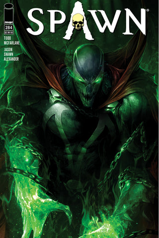 SPAWN #284 CVR A FRANCESCO MATTINA