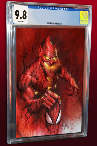 AMAZING SPIDER-MAN #800 LUCIO PARRILLO RED GOBLIN VIRGIN VARIANT LIMITED TO 700 CGC 9.8 PREORDER