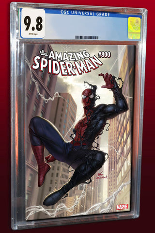 AMAZING SPIDER-MAN #800 IN HYUK LEE TRADE DRESS VARIANT LIMITED TO 3000 CGC 9.8 PREORDER