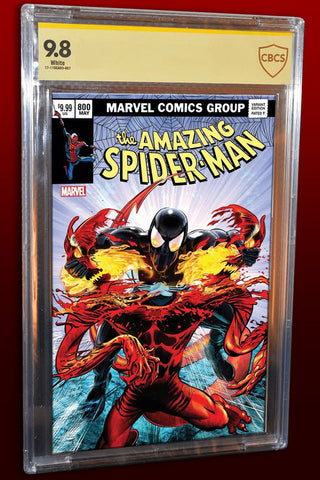 AMAZING SPIDER-MAN #800 MIKE MAYHEW HOMAGE TRADE DRESS CBCS SS ULTIMATE 9.8 LIMITED TO 300