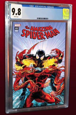 AMAZING SPIDER-MAN #800 MIKE MAYHEW MODERN TRADE DRESS LIMITED TO 800 COPIES WORLDWIDE CGC 9.8 PREORDER