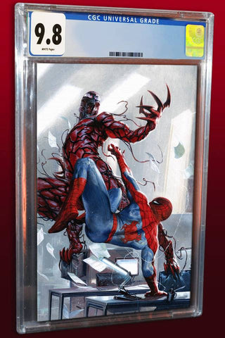PETER PARKER SPECTACULAR SPIDER-MAN #300 GABRIELE DELL'OTTO VIRGIN VARIANT LIMITED TO 1000 COPIES  CGC 9.8 PREORDER