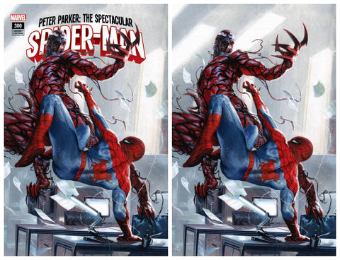 PETER PARKER SPECTACULAR SPIDER-MAN #300 GABRIELE DELL'OTTO TRADE/VIRGIN VARIANT SET LIMITED TO 1000 COPIES