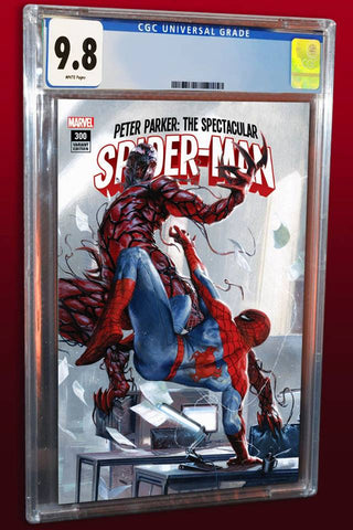 PETER PARKER SPECTACULAR SPIDER-MAN #300 GABRIELE DELL'OTTO TRADE VARIANT LIMITED TO 3000 COPIES CGC 9.8 PREORDER