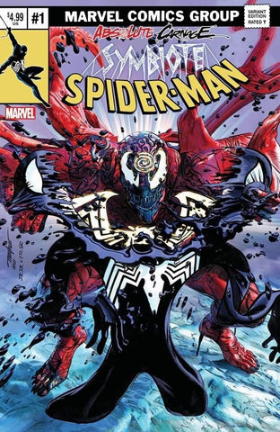 ABSOLUTE CARNAGE SYMBIOTE SPIDER-MAN #1 MIKE MAYHEW ASM #238 NYCC CLASSIC TRADE DRESS VARIANT LIMITED TO 1000