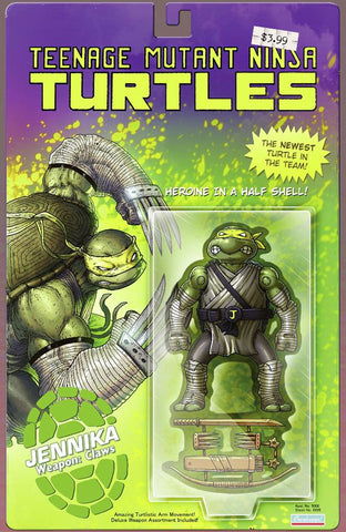 TMNT #98 MIKE VASQUEZ JENNIKA ACTION FIGURE VARIANT LIMITED TO 800