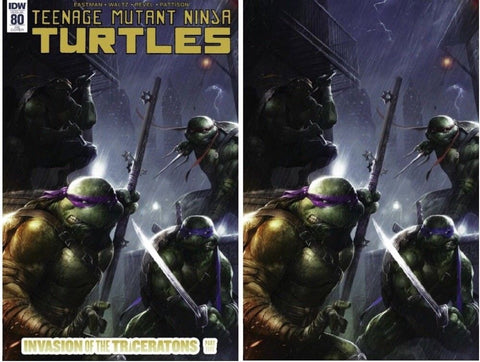 TMNT ONGOING #80 MATTINA VIRGIN SET LIMITED TO 500 SETS