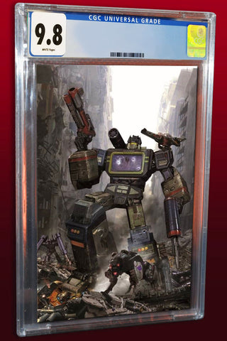 TRANSFORMERS #2 JOHN GALLAGHER VIRGIN VARIANT LIMITED TO 600 CGC 9.8 PREORDER