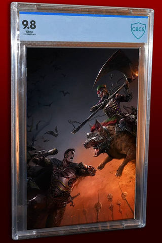 DARK NIGHTS METAL #1 FRANCESCO MATTINA UNMASKED VIRGIN CBCS 9.8 ULTIMATE VARIANT LIMITED TO 250
