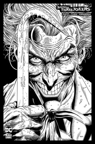 BATMAN THREE JOKERS #1 (OF 3) 1:100 SKETCH VARIANT