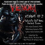 NOW VENOM #2 GABRIELE DELL'OTTO SYMBIOTE VARIANT SETS - Sad Lemon Comics