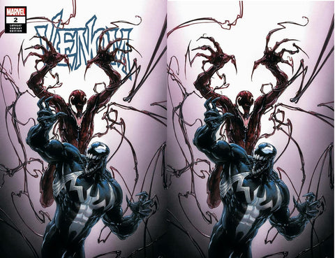 VENOM #2 CLAYTON CRAIN TRADE/VIRGIN VARIANT SETS LIMITED TO 600 SETS