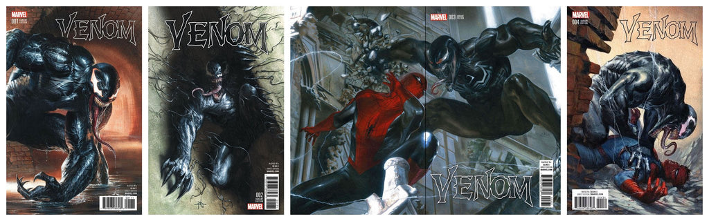 VENOM #1, 2, 3, 4 GABRIELE DELL'OTTO DEFINITIVE SET