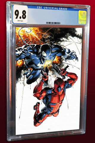 VENOM #1 CLAYTON CRAIN VIRGIN VARIANT LIMITED TO 1000 COPIES CGC 9.8 PREORDER