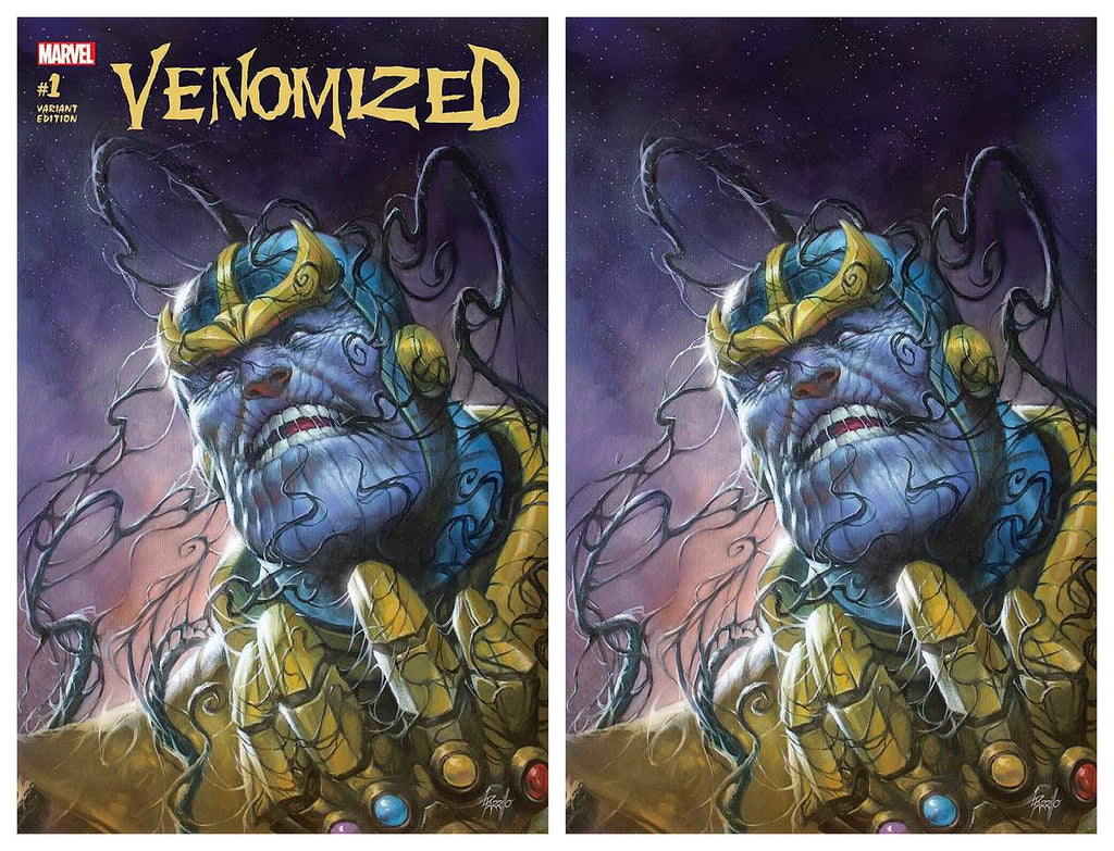 VENOMIZED #1 LUCIO PARRILLO TRADE DRESS/VIRGIN VARIANT SET LIMITED TO 700 SOLD WORLDWIDE