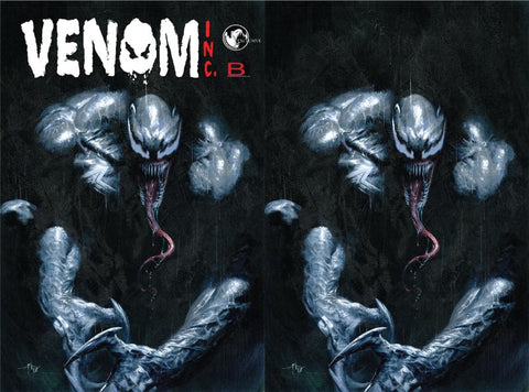 AMAZING SPIDER-MAN VENOM INC OMEGA #1 DELL'OTTO VIRGIN VARIANT SET