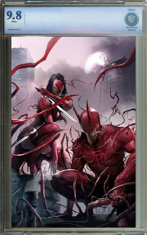 EDGE OF VENOMVERSE #1 EXCLUSIVE FRANCESCO MATTINA ULTIMATE EDITION LIMITED TO 250 CBCS 9.8 COPIES