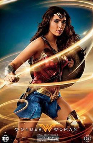 WONDER WOMAN #26 SDCC PHOTO FOIL VARIANT