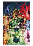 "7 Ate 9 Comics Art Print GREEN LANTERN By Jim Lee Print 12""x16"""