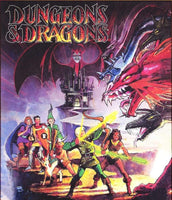 7 Ate 9 Comics cartoon DUNGEONS & DRAGONS