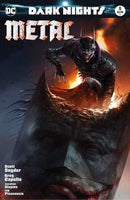 7 Ate 9 Comics Comic BATMAN DARK NIGHTS: METAL #5 Francesco Mattina Trade Dress Variant Cover