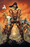7 Ate 9 Comics Comic CONAN THE BARBARIAN #1 J Scott Campbell Virgin Variant Cover
