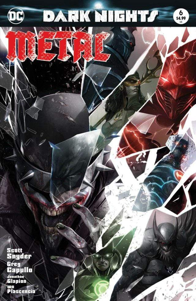 7 Ate 9 Comics Comic DARK NIGHTS: METAL #6 Francesco Mattina Trade Dress Variant Cover