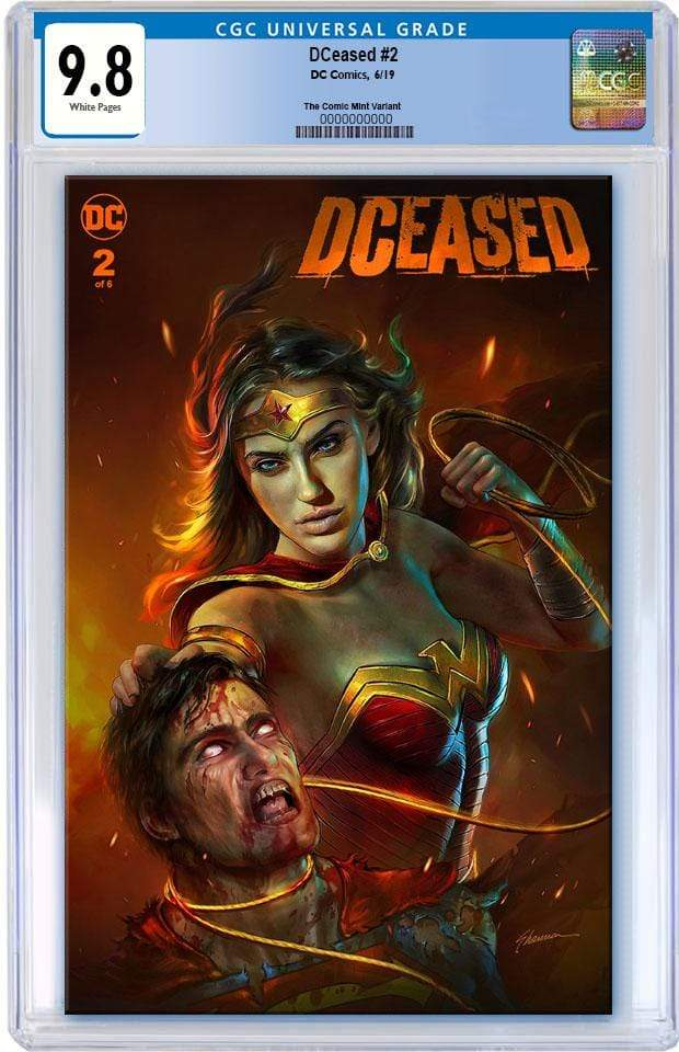 7 Ate 9 Comics Comic DCEASED #2 CGC 9.8 Shannon Maer Trade Dress Variant Cover