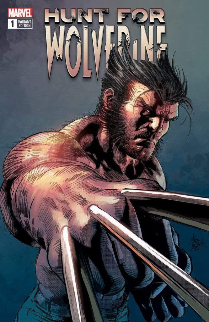 7 Ate 9 Comics Comic HUNT FOR WOLVERINE #1 Mike Deodato Trade Dress Variant Cover