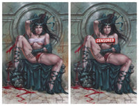 7 Ate 9 Comics Comic Naughty & Nice Virgin Variant Set (2 Comics) - Limited To 100 SAMURAI OF OZ #1 Lucio Parrillo Variant Cover Options