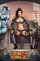 7 Ate 9 Comics Comic Nice Variant ZSERDY GIRLZ - Boba Fett Cosplay Variant - Cover Options