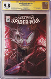 7 Ate 9 Comics Comic THE AMAZING SPIDER-MAN #21 CGC 9.8 SIGNED Francesco Mattina Variant Cover