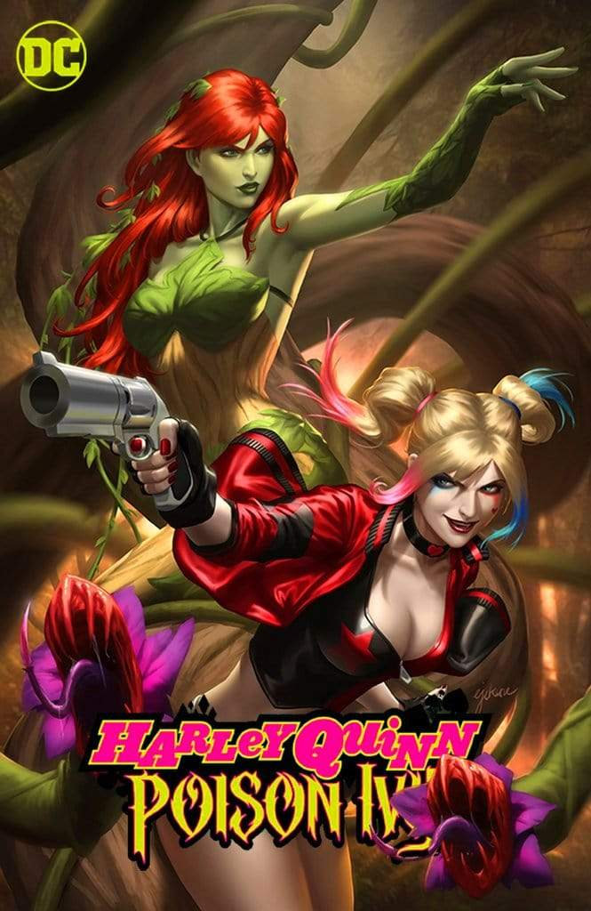 7 Ate 9 Comics Comic Trade Dress HARLEY QUINN & POISON IVY #3 Ejikure Variant Cover Options
