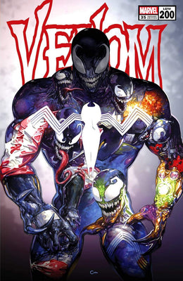 7 Ate 9 Comics Comic Trade Dress VENOM #200 Clayton Crain Variants - COVER OPTIONS