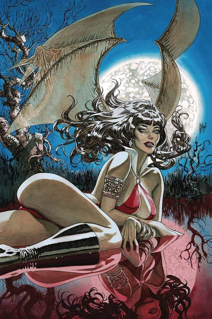 7 Ate 9 Comics Comic VAMPIRELLA #9  1:40 Guillem March Virgin Variant Cover
