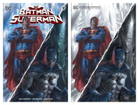 7 Ate 9 Comics Comic Virgin Variant Set BATMAN / SUPERMAN #1 Lucio Parrillo Variant Cover Options