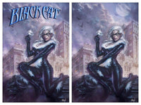 7 Ate 9 Comics Comic Virgin Variant Set BLACK CAT #1 Lucio Parrillo Variant Cover Options