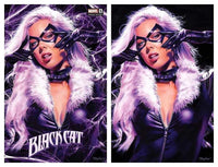 7 Ate 9 Comics Comic Virgin Variant Set BLACK CAT #1 Mike Mayhew Variant Cover Options