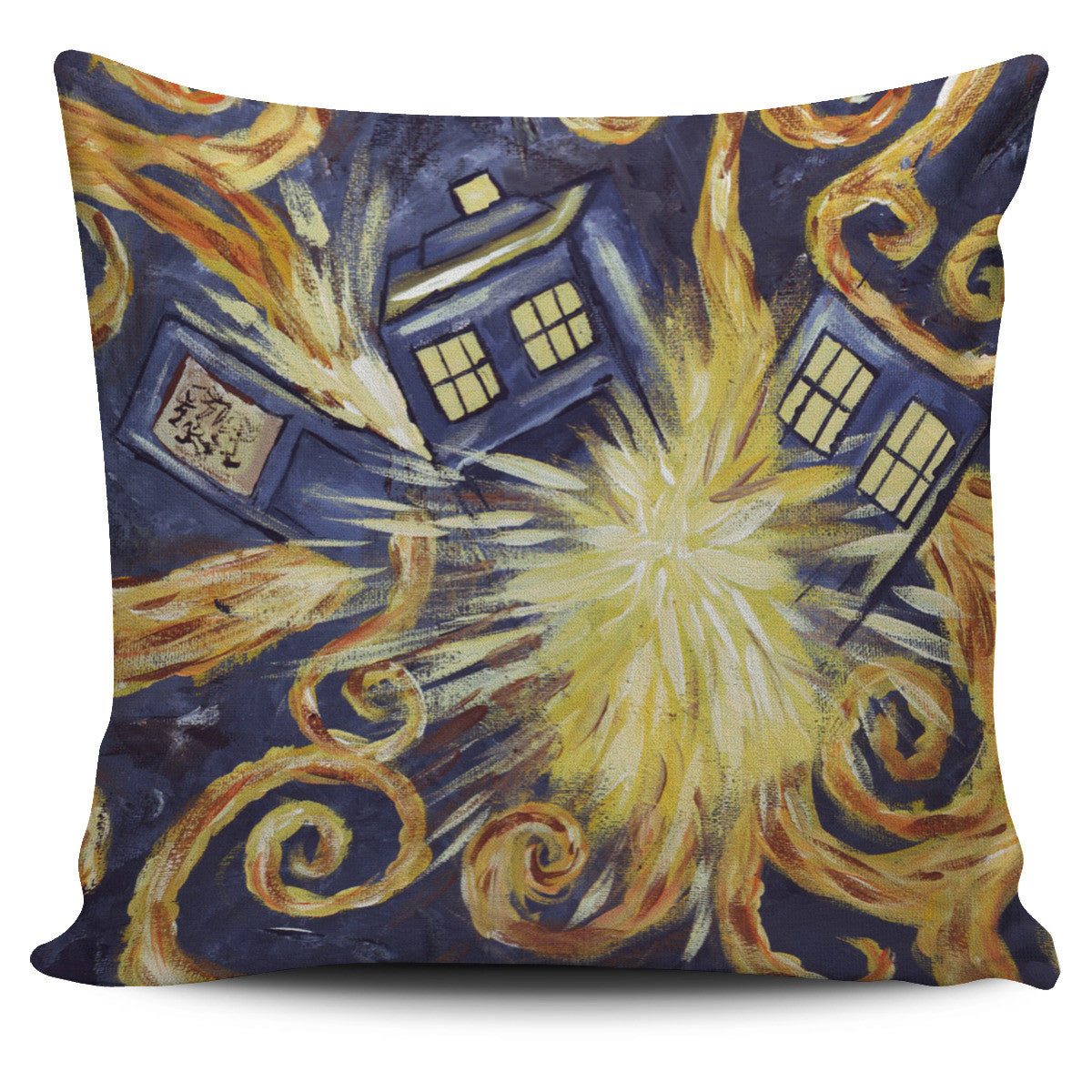 DOCTOR WHO VAN GOGH Pillow Covers