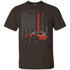 USA Flag Jeep LIMITED EDITION