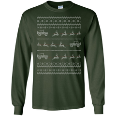 Santa Jeep - Ugly Sweater