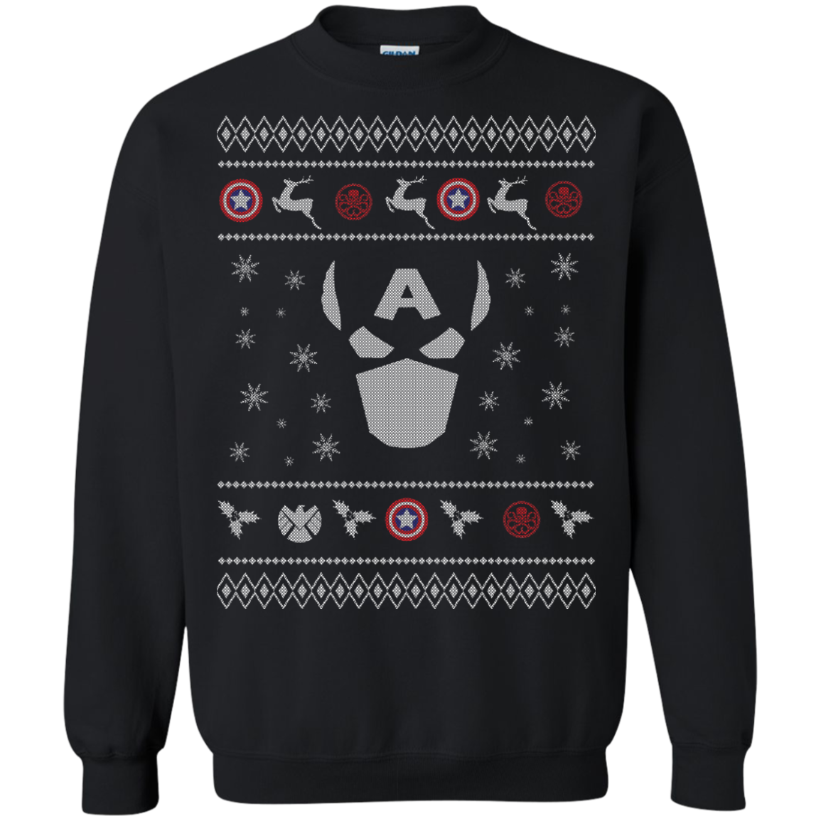 Cap America - Ugly Sweater LIMITED EDITION