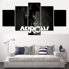 Green Arrow - 5 Piece Canvas LIMITED EDITION - The Nerd Cave - 2