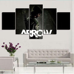 Green Arrow - 5 Piece Canvas LIMITED EDITION - The Nerd Cave - 3