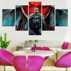 B-man - Red Hood 5 Piece Canvas LIMITED EDITION - The Nerd Cave - 4